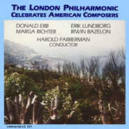The London Philharmonic Celebrates American Composers CD Cover