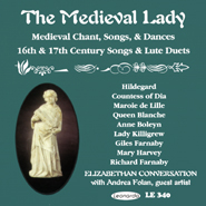 CD cover The Medieval Lady