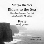 CD cover Marga Richter Riders to the Sea, Kyrie